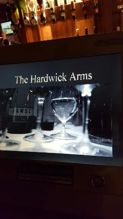 Hardwick Arms Hotel: Good food and wine