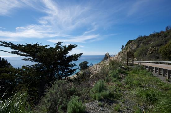 New Camaldoli Hermitage: Coast near Lucia