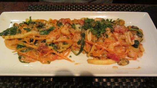 Bella Italia Ristorante: Lobster Ravioli with Seafood