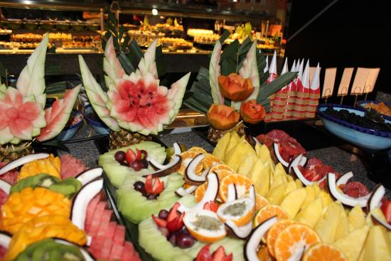 Buffet Fruit Presentation Picture Of Hotel Riu Palace