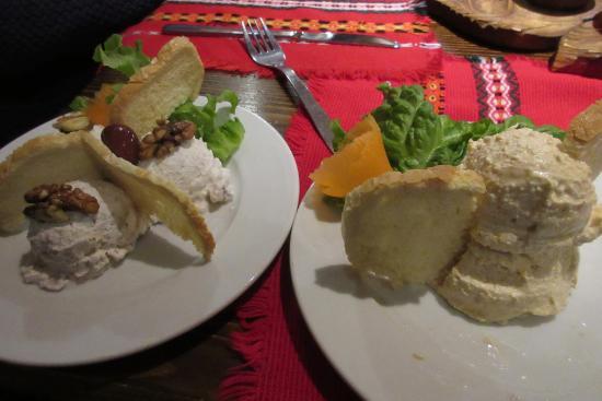 Hadjidraganovite kashti : Our starters