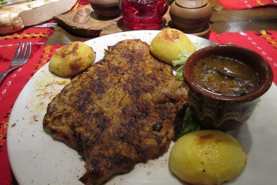 Hadjidraganovite kashti: Pork