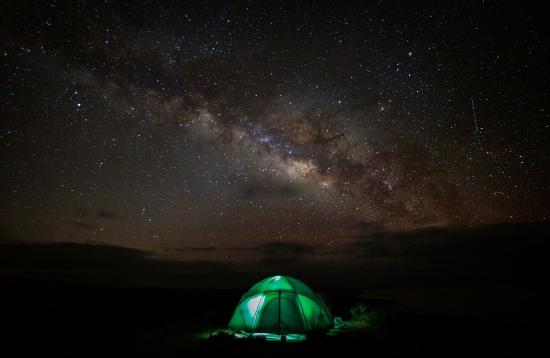Baja Discovery: My tent under the Milky Way