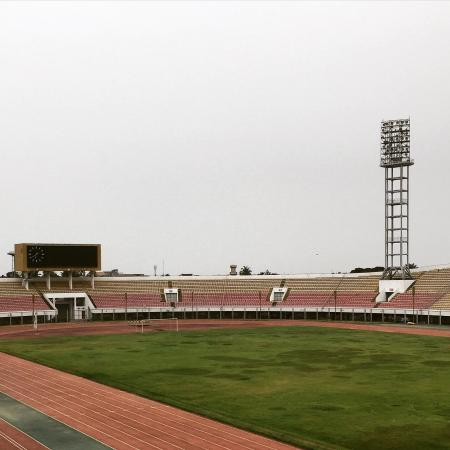 Cotonou, เบนิน: Stade de l'Amitie