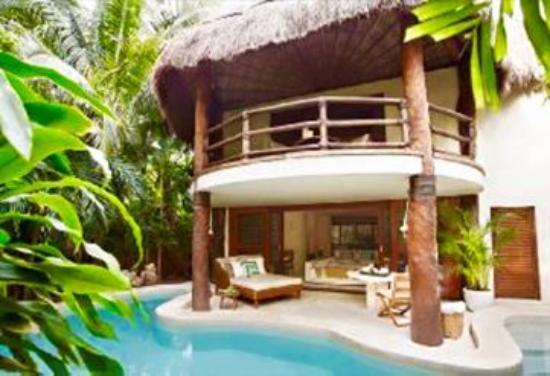Viceroy Riviera Maya: Cabaña 1 de 2 plantas