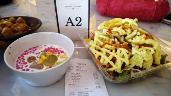 asinan dan bubur sumsum picture of roemah kuliner metropole rh tripadvisor com