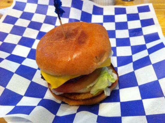Dumas, AR: Shep's cheeseburger
