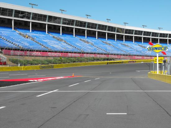 Picture of charlotte motor speedway concord for Ride along charlotte motor speedway