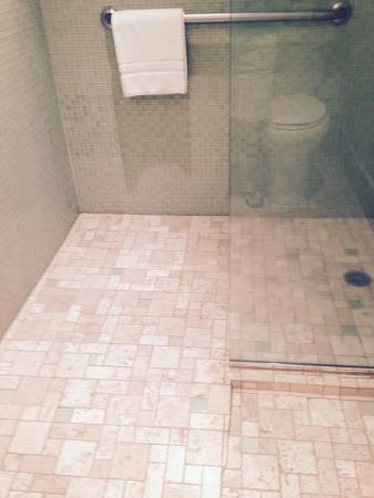 Kaanapali Alii No Separation Between Shower And Bathroom Floor Was Always Wet