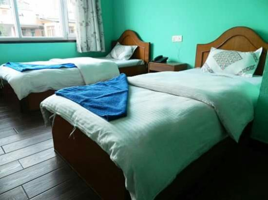 mount Annapurna guest house bed room