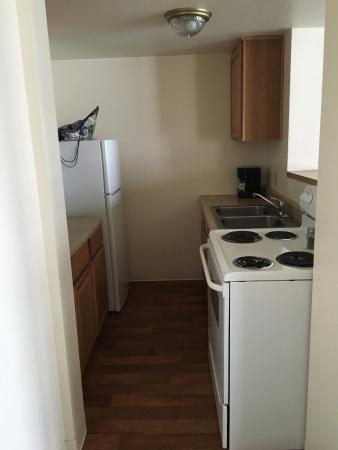 Lincoln City, OR: Nice size kitchen in cottage #2