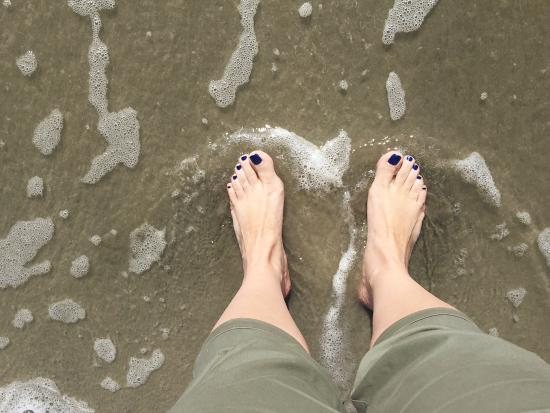 toes in the water picture of folly beach fishing pier folly rh tripadvisor ie