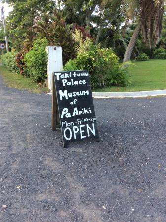 Ngatangiia, Cookøerne: Pa Ariki's Takitumu Palace Museum