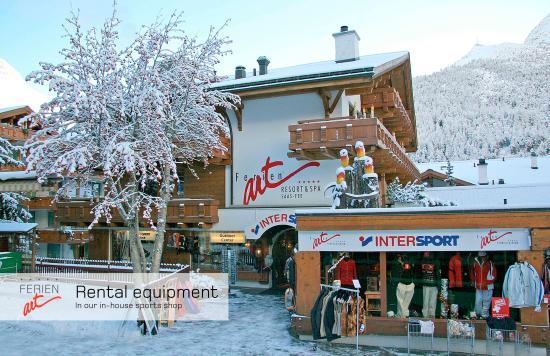 فيرينارت ريزورت آند سبا: Rental equipment