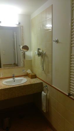 Mamaison Residence Izabella Budapest: Baño