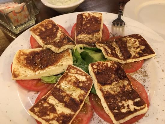 La Saj Lebanese Bistro: imported cheese plate