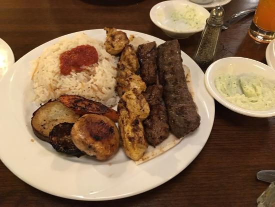 La Saj Lebanese Bistro: trio