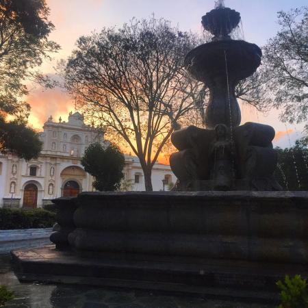 Antigua visit