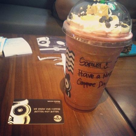 Maxx Coffee Lippo Mall Kuta Bali