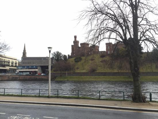 Best Western Inverness Palace Hotel & Spa: View from the front