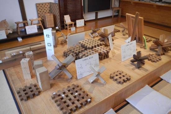 Hida no Takumi Bunka Museum: Wooden puzzles