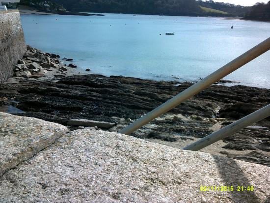 St Mawes, UK: View from front of hotel