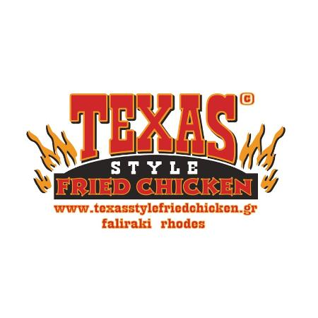 texas logo picture of texas style fried chicken faliraki
