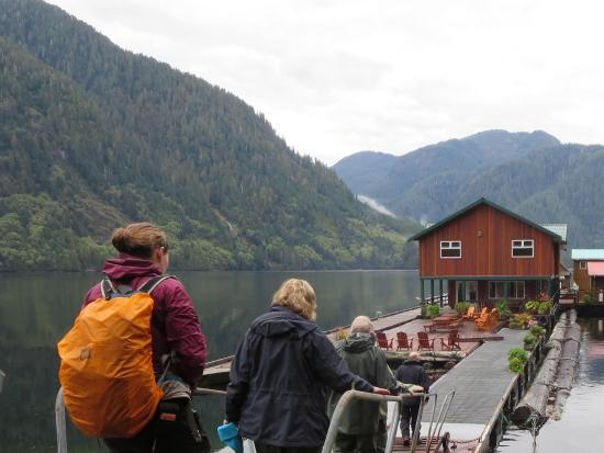 Great Bear Lodge: Back to the floating lodge