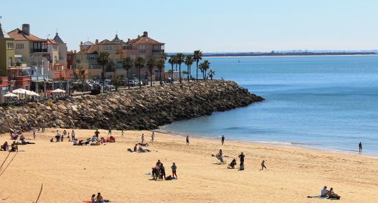 Apartamentos Puerto Sherry: Exterior from beach