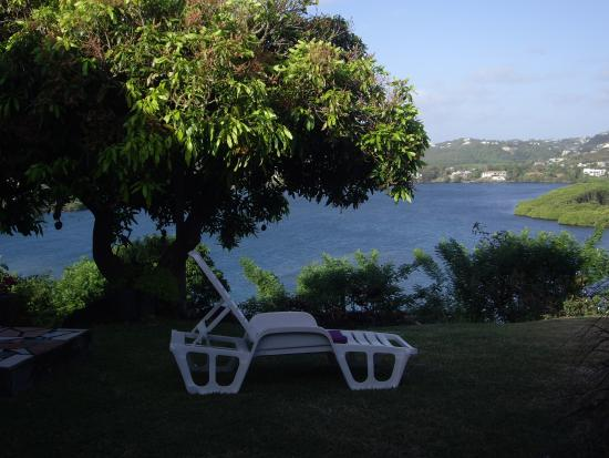 Westerhall, Grenada: View of the Bay from our patio
