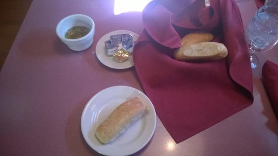 Marco Polo Restaurant Banquets: Hot Bread Sticks, Butter, and Oil/Seasoning Mix/Dip