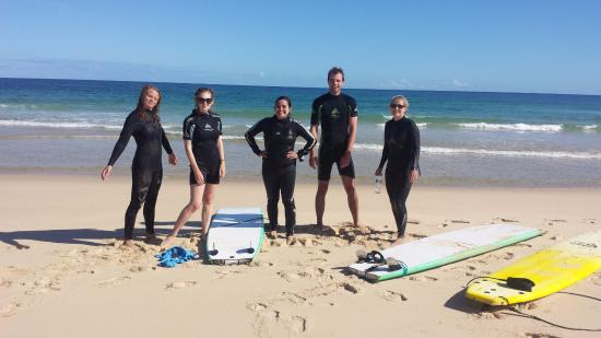 Waves Surf School: ready to surf