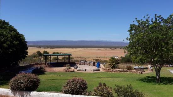 Piketberg, Sydafrika: Lapa and braai are
