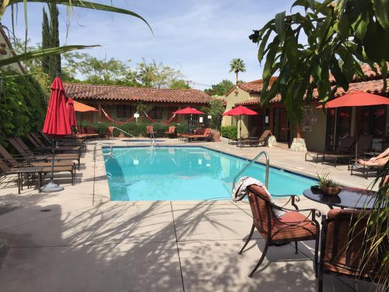 Los Arboles Hotel : The Pool at Los Arboles