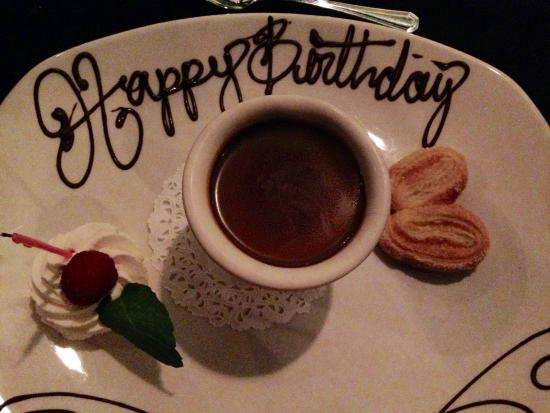 Forbes Mill Steakhouse: Birthday chocolate pots de creme