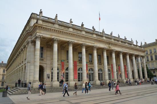 Le rideau bild von grand theatre bordeaux tripadvisor - Direct location bordeaux ...