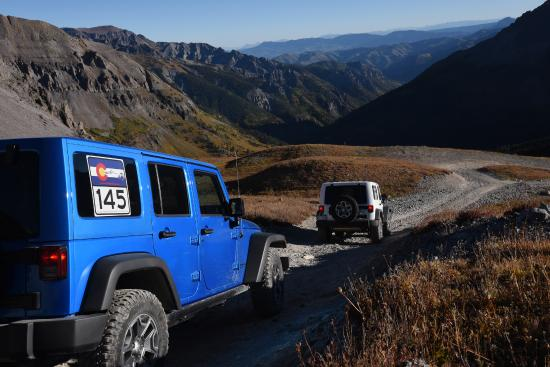 Colorado 145 Jeep Rentals