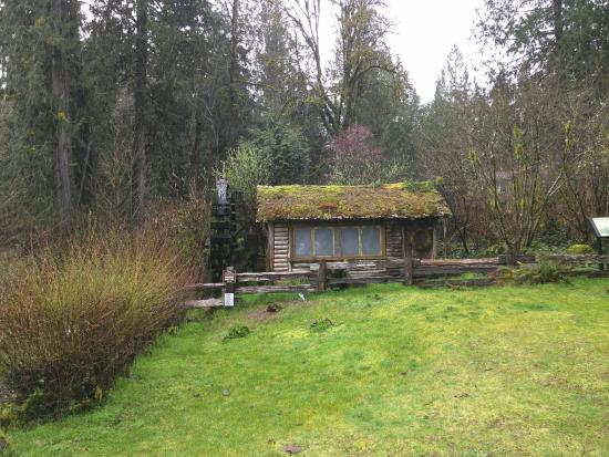 Robin Hood Village: Dalby Water Wheel nearby