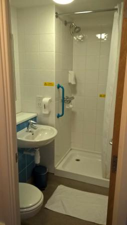 Small Shower Room Very Small Picture Of Travelodge Guildford