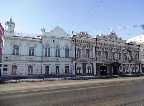 House of Merchants Yakovlev - A. E. Borchaninov