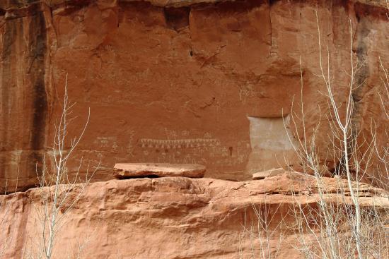 Petroglyphs picture of natural bridges national monument natural bridges national monument petroglyphs publicscrutiny Gallery