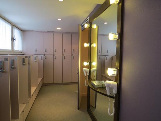Womens locker room - Picture of Cristallo, a Luxury Collection ...