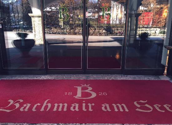 Bachmair Hotel am See: Entrance