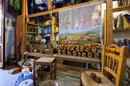 Pampaneira, Spain: Taller textil Mercedes Carrascosa