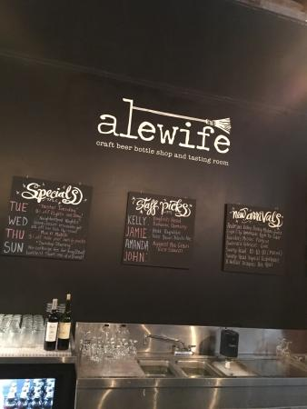 ‪Alewife Craft Beer Bottle Shop & Tasting Room‬