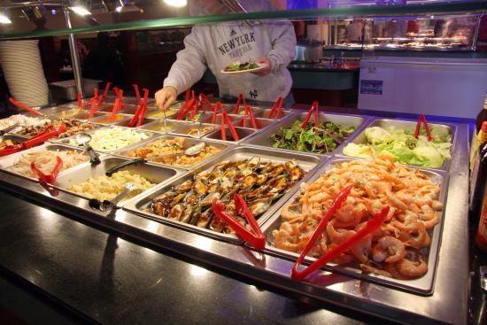 Hibachi Grill Supreme Buffet Cold