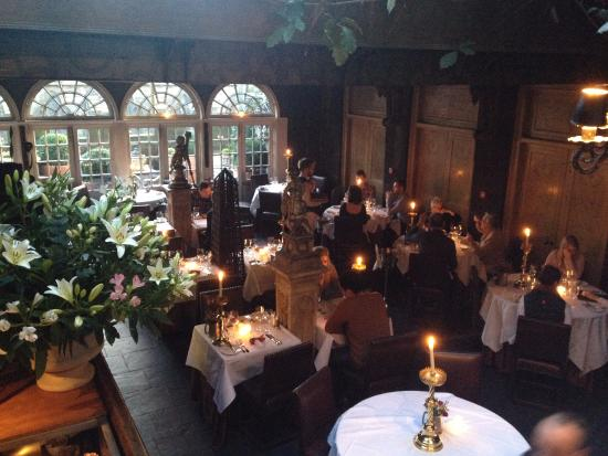 The Witchery Dining Room Or Secret Garden