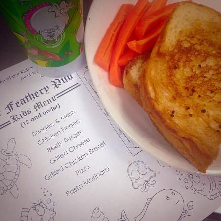 St. Catharines, Canada : Childrens Menu