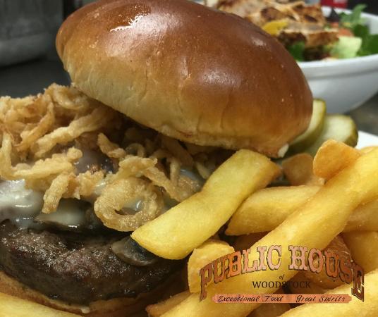 Woodstock, IL: Our Pub Burger