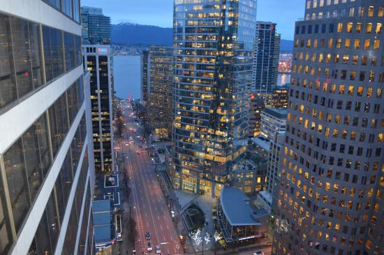 Hyatt Regency Vancouver: View from our balcony.
